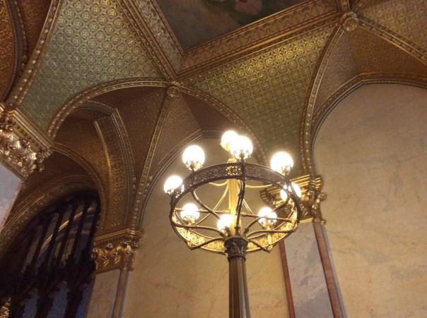Westminster-style candelabra
