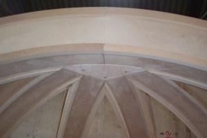 Detalle de la cupula