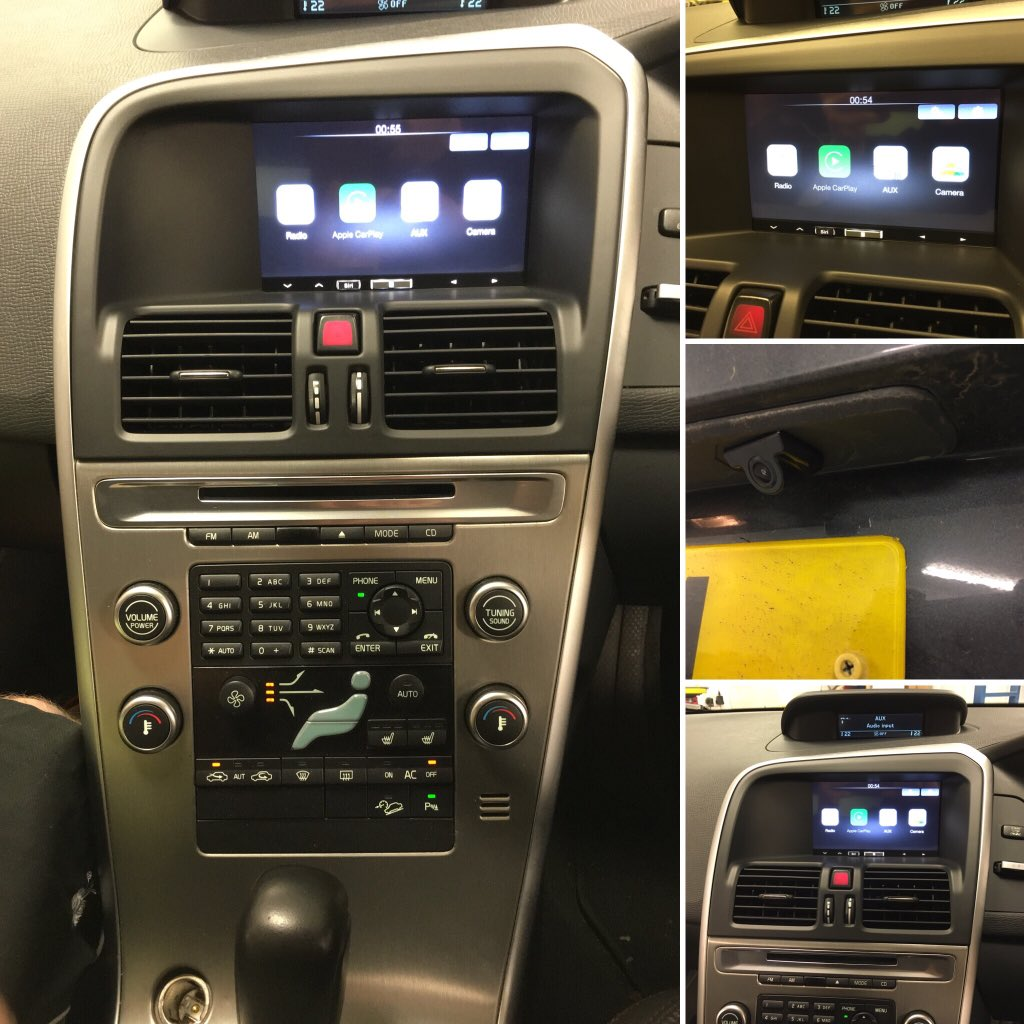 Carplay Installs Alpine Ilx 700 In A Volvo Xc60 Carplay Life Apple Carplay News Installs