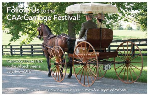 Carriage Festival Poster
