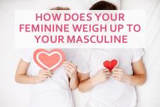 feminine masculine