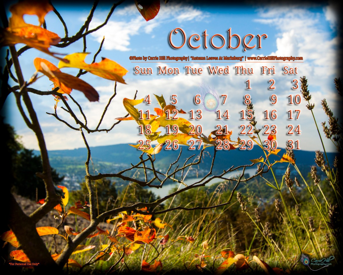 Wallpaper Calendar Oct : Free downloadable october desktop wallpaper calendar
