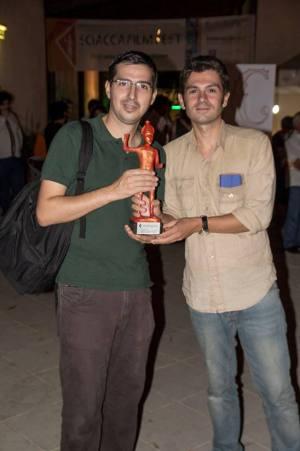 Il regista Gaetano Di Lorenzo e il produttore Francesco Torre.