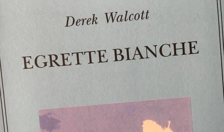 DEREK WALCOTT copertina
