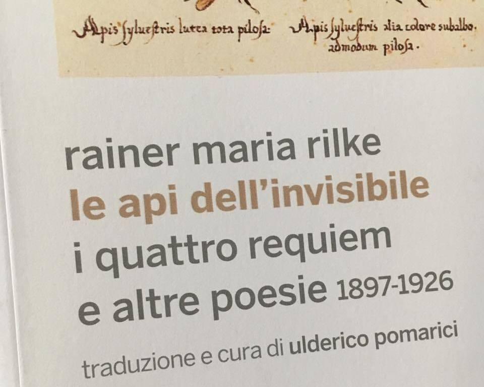 RAINER MARIA RILKE copertina