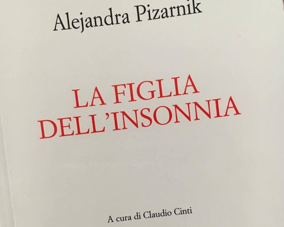 ALEJANDRA PIZARNIK copertina