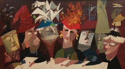 Ward Kimball Painting