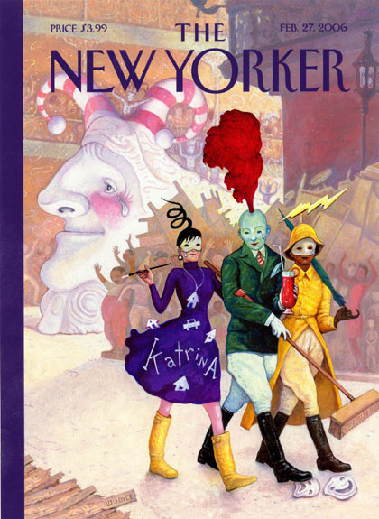 New Yorker cover by Bill Joyce