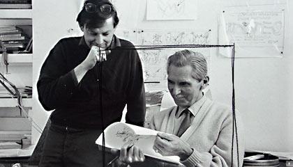 Richard Wiliams and Ken Harris