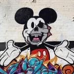 Mickey Mouse Graffiti