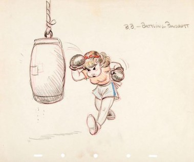 B. B. — Battling Barrett