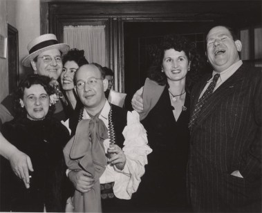 Jack Roberts and Wife, Ethel and Roy Williams