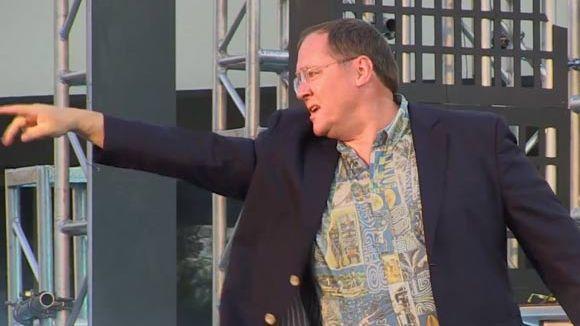 John Lasseter address CalArts class of 2014.