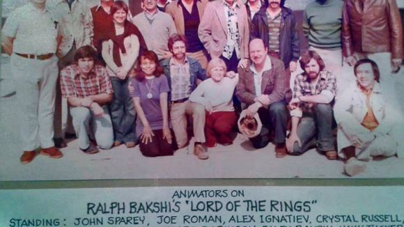 """Lord of the Rings"" animation crew, 1978. Click to enlarge image. (Photo via African-American Animators - Past & Present Facebook group.)"