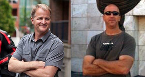 "Chris Bailey (left) and Mark Koetsier will co-direct ""Blazing Samurai."""