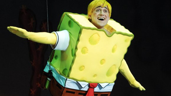 "Nickelodeon has previously presented the play ""SpongeBob SquarePants: The Sponge Who Could Fly"" (pictured above) throughout Asia, Australia, and South Africa."