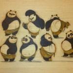 """Po-trait on Bamboo"""