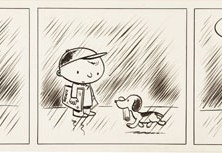 Schulz Peanuts try out strip