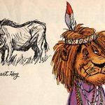 Ken Anderson sketchbook drawings