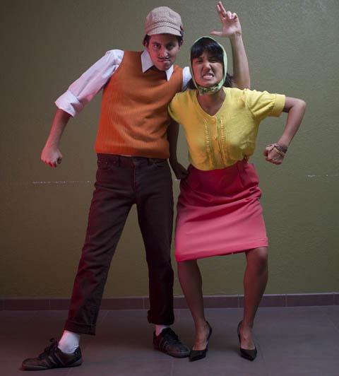 Avner Geller and Stevie Lewis