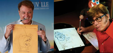 Bill Plympton and John Kricfalusi