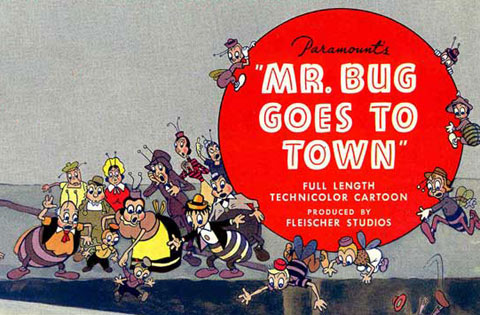 Mr Bug Goes to Town