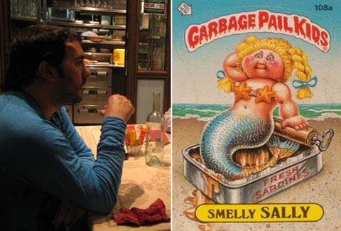 PES and Garbage Pail Kids