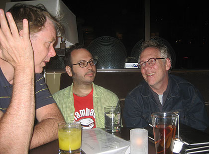 Bill Plympton, Dave Levy and John Andrews