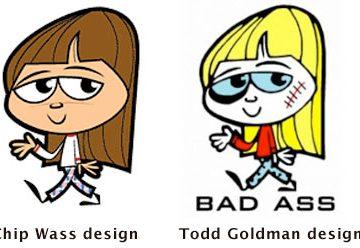 Todd Goldman and Chip Wass artwork