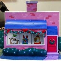3D-Popup Weihnachtskarte