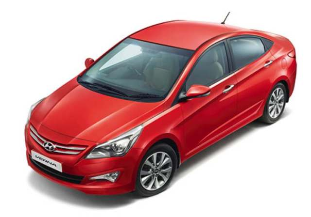 hyundai i20 verna updated for 2016. Black Bedroom Furniture Sets. Home Design Ideas