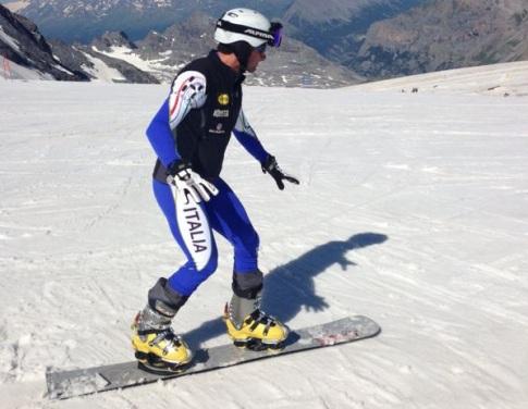 Attacchi snowboard