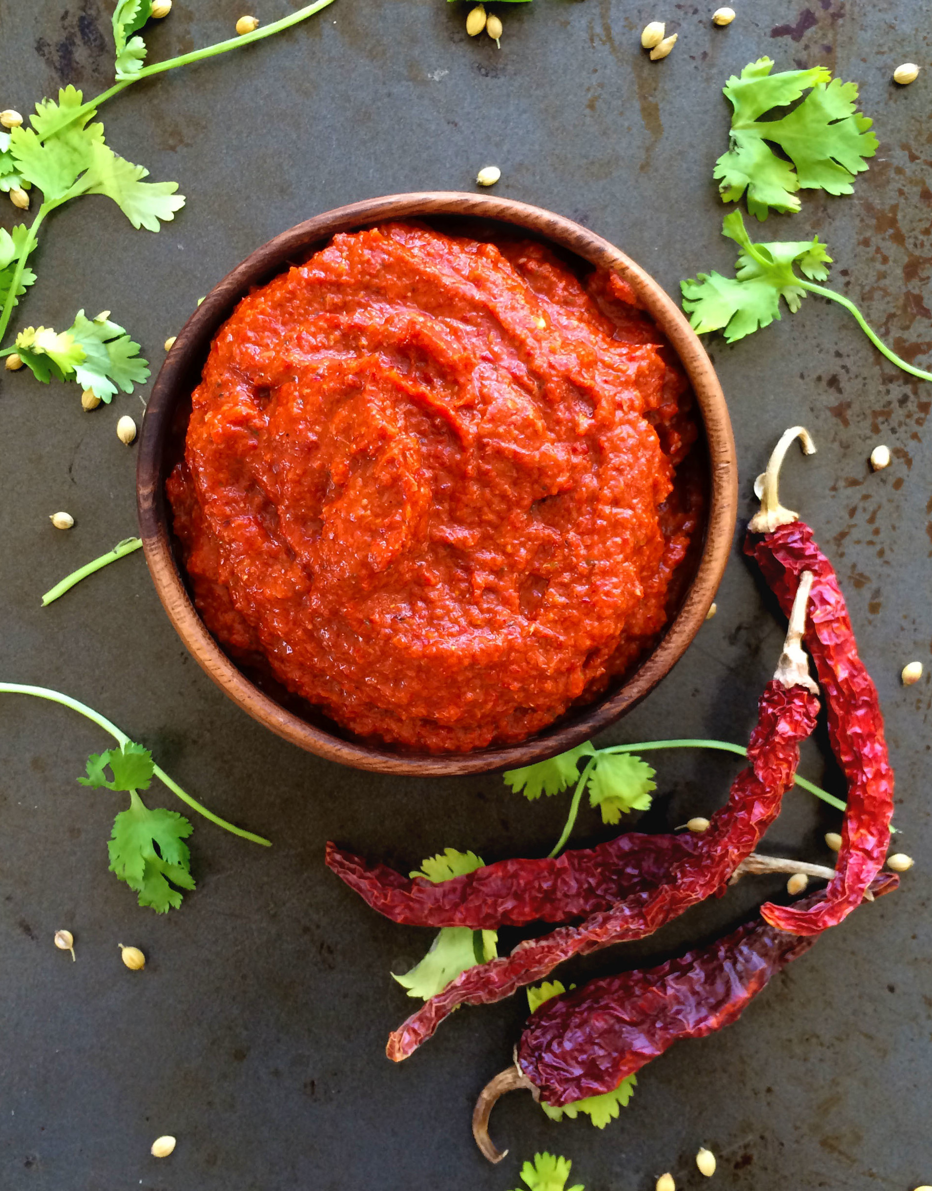 Vegan Thai Red Curry Paste