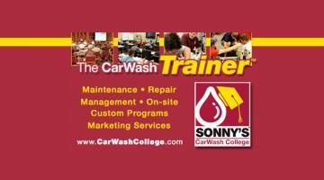 Carwash college, carwash trainer