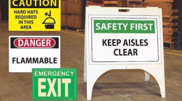 Safety signs, Visual Workplace Inc.