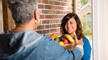 Food, Meals on Wheels, feeding the hungry, homebound seniors
