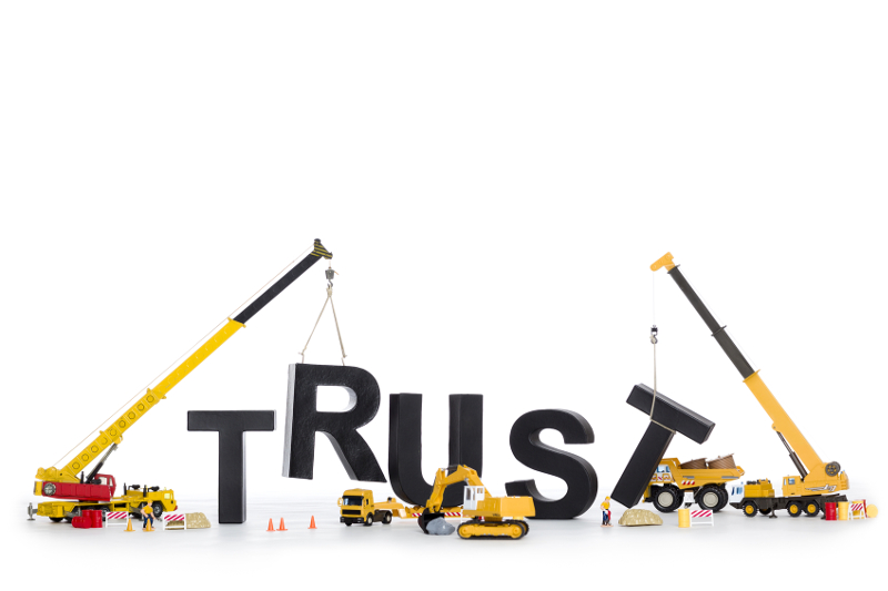 building trust, business credibility, building credibility