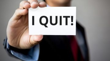 employee, quit, employee retention, i quit, sign, employee turnover