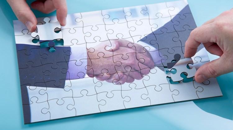 mergers, acquisitions, handshake, puzzle, puzzle pieces, business deal