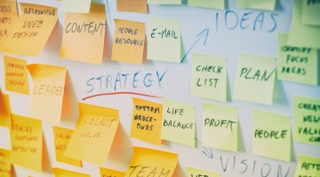 business planning, planning your startup, sticky notes, strategy