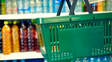 c-stores, convenience store, basket, drinks, shelves, shopping, groceries