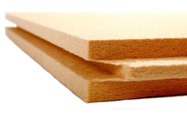 Fibre de bois isolant rigide