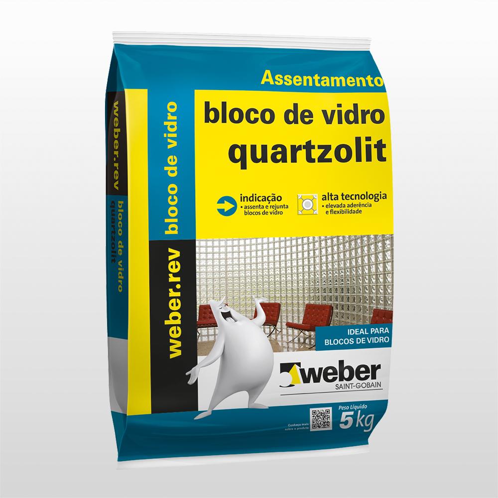 Argamassa Bloco De Vidro Quartzolit – 5 Kg