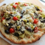 Greek Chicken Pizza for #SundaySupper