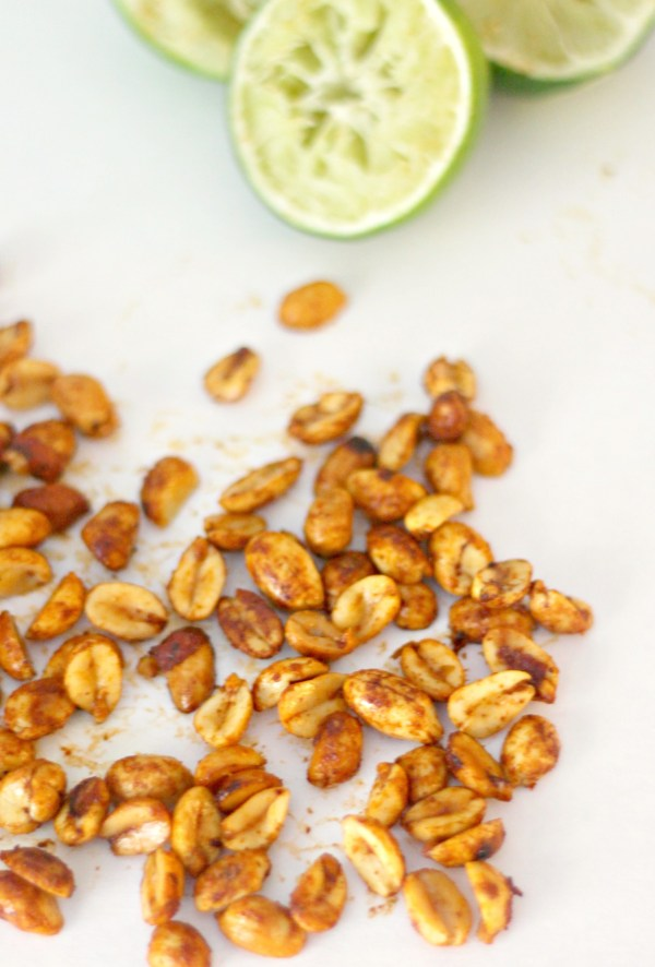 chili lime peanuts for #SundaySupper