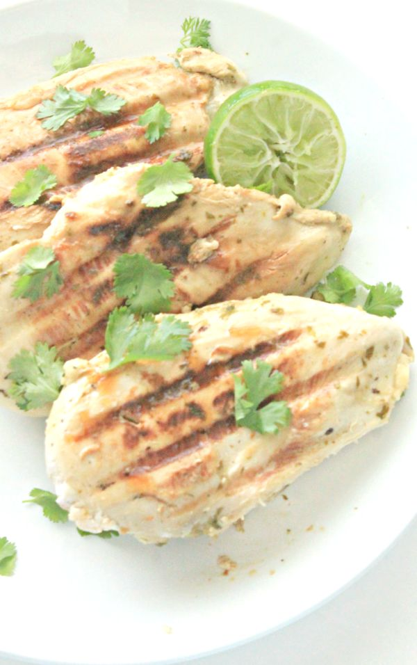 grilled cilantro lime chicken breast