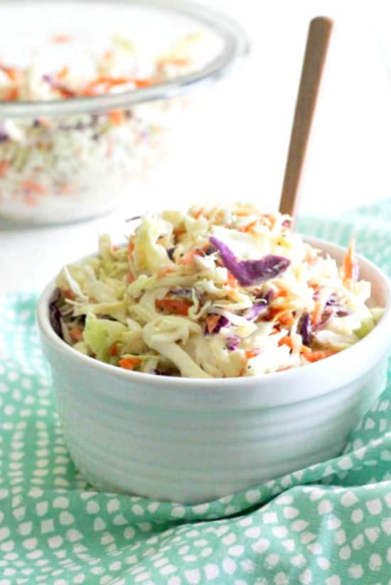 Classic Coleslaw - perfect for a summer potluck!