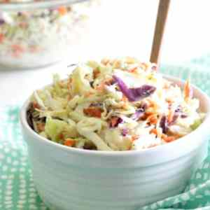 Classic Coleslaw – perfect for a summer potluck!