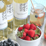 summer sangria  with chilled moscato | casadecrews.com