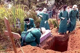 Ebola funerali